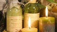 Olive Oil shampoo and olive oil perfumed candles are one of the typical products at L'Apothiquaire Artisan Beaute®.