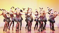 Dance students of DanCenter performing (Photo courtesy of DanCenter)