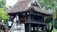 One Pillar Pagoda is one of most famous tourism attractions in Hanoi.