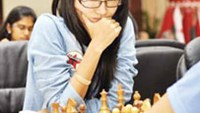 Vo Thi Kim Phung won two gold medals at the Asian Junior Championships. Photo by Sharjahchess.com