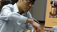 Le Quang Liem entered the third round of the chess World Cup in Norway by beating Spain's Vallejo Pons Francisco. Photo by chessdom.com