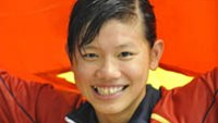Nguyen Thi Anh Vien won the gold medal in the women's 200m medley swim at the 2013 Asian Indoor & Martial Arts Games in South Korea on Sunday