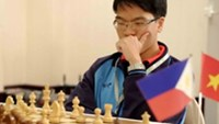 Le Quang Liem has booked a berth at the Chess World Cup in Norway in August Photo by Bach Duong