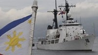 Eyeing China, Philippines gains U.S. ship in military upgrade