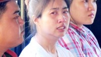 Chaimongkol Suracha, 31, a Thai woman, was sentenced to death by a Ho Chi Minh City court Tuesday for smuggling nearly two kilograms of cocaine into Vietnam. PHOTO: VNEXPRESS
