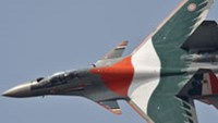 A special Su-30 MKI in Indian colors