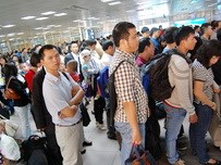 Queue? No, we are Vietnamese