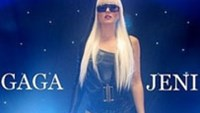 """UK singer Jeni Jaye who will perform in the """"Lady Gaga and Britney Spears tribute show"""" in Hanoi on March 8"""