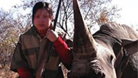 Permit to hunt endangered rhino sells for $350,000 despite protests