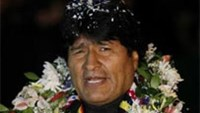 Morales back in Bolivia after plane drama over Snowden