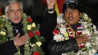 South American leftist leaders rally for Bolivia in Snowden saga