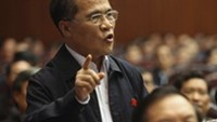 Deputy PM Nguyen Sinh Hung speaks at the first session of the 13th National Assembly this week.