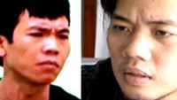 Tran Thanh Hai and Nguyen Quy Tu have been detained for assaulting two other men in downtown Ho Chi Minh City on July 17