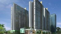 An artist's impression of The Vista, a project developed by CapitaLand in Ho Chi Minh City's District 2. It is due to be completed in mid 2011.