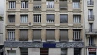 French homeless seek refuge in offices