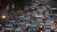 Hanoi authorities have developed a infrastructure plan to address severe traffic congestion.