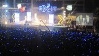 MTV Exit storm moves south
