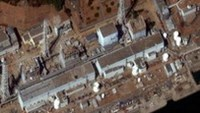 Reactors No. 1 to 4 are seen at the Fukushima Daiichi Power Plant in Fukushima in this satellite file image, taken and released by DigitalGlobe March 18, 2011
