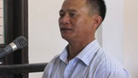 Phan Cong Chin, 48, the owner of a mining site in the central province of Nghe An, where a rockslide killed 18 and injured six others last year, stands trial on Monday.