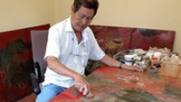 Restoration of famous Vietnamese painting finished