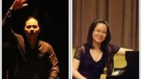 Percussionist Tran Xuan Hoa and pianist Tran Thi Tam Ngoc will perform at L'Espace in Hanoi next month