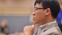 Vietnam's No.1 chess player Le Quang Liem. Photo by worldchess.com.