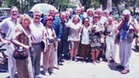 The first reunion of western wartime journalists in Vietnam in 1995