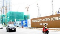 Luxury apartment project Sunrise City in District 7, Ho Chi Minh City
