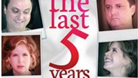 Poster of the musical The last 5 years to be staged in HCMC on May 11 and 12.