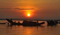 A sunrise special at Tam Giang Lagoon