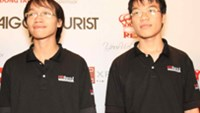 Vietnam's Quang Liem (R) and Truong Son will compete at the 2013 Chess World Cup in Norway from August 9 till September 4