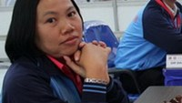 Female chess player Nguyen Thi Thanh An is likely to win a berth at the 2014 World Cup