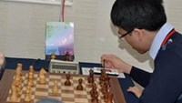 Vietnam's chess ace Le Quang Liem at Tradewise Gibraltar Chess event 2013