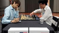Liem in third place after penultimate round draw