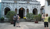 The Huynh Thuy Le Ancient House, located in Dong Thap Province's Sa Dec Town, has become a tourist attraction
