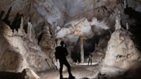 The Son Doong Cave is the world's largest cave (Photo courtesy of the British Cave Research Association).
