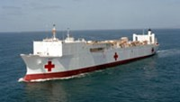 A file photo of the USNS Mercy (T-AH-19)