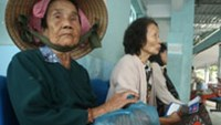 Health insurance holders at An Binh Hospital in Ho Chi Minh City's District 5 on Thursday.