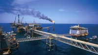 A drilling platform of PetroVietnam in the East Sea