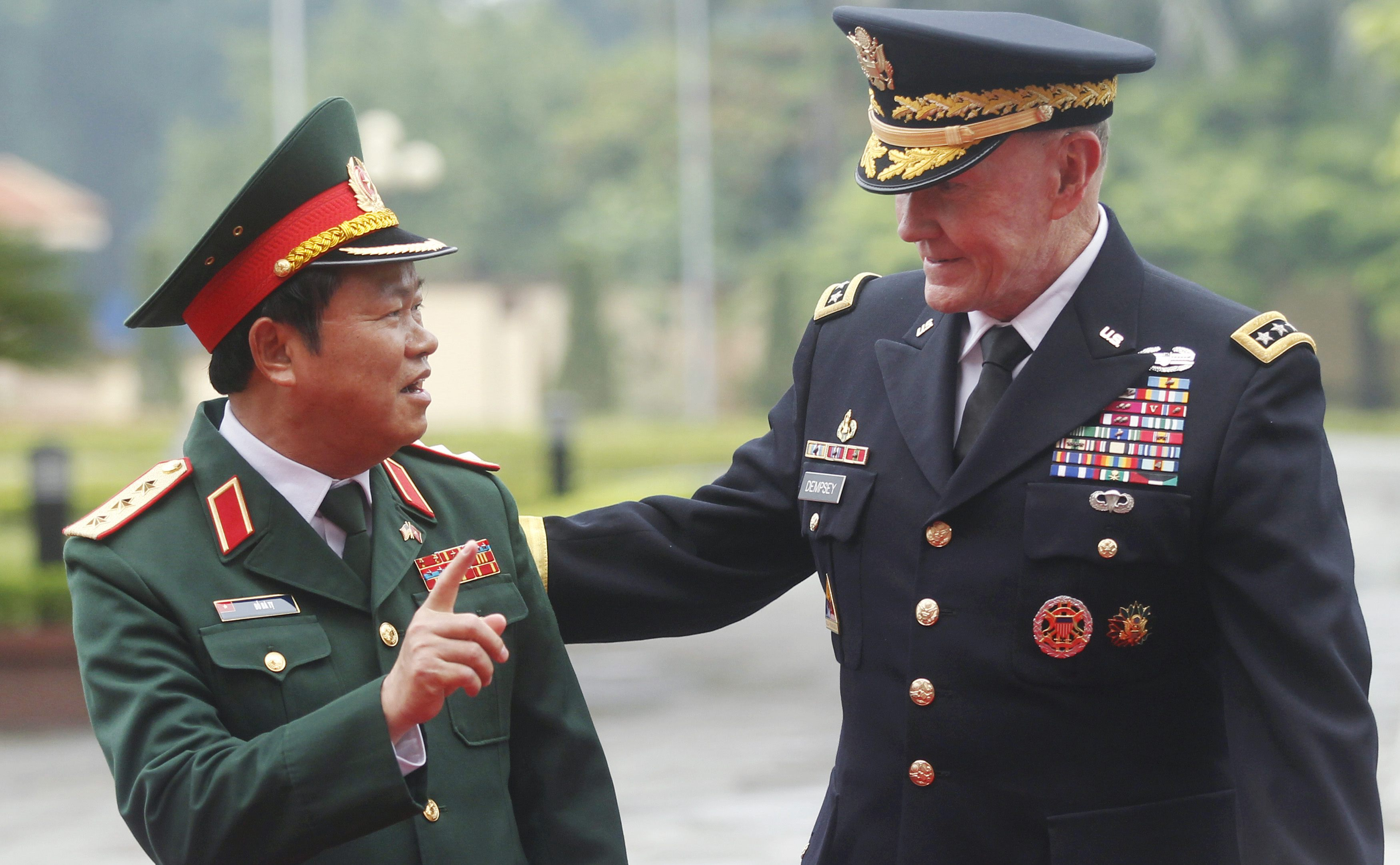 In sultry Vietnam, top US general seeks thaw with former foe