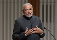 Indian Prime Minister Narendra Modi. Photo credit: Bloomberg