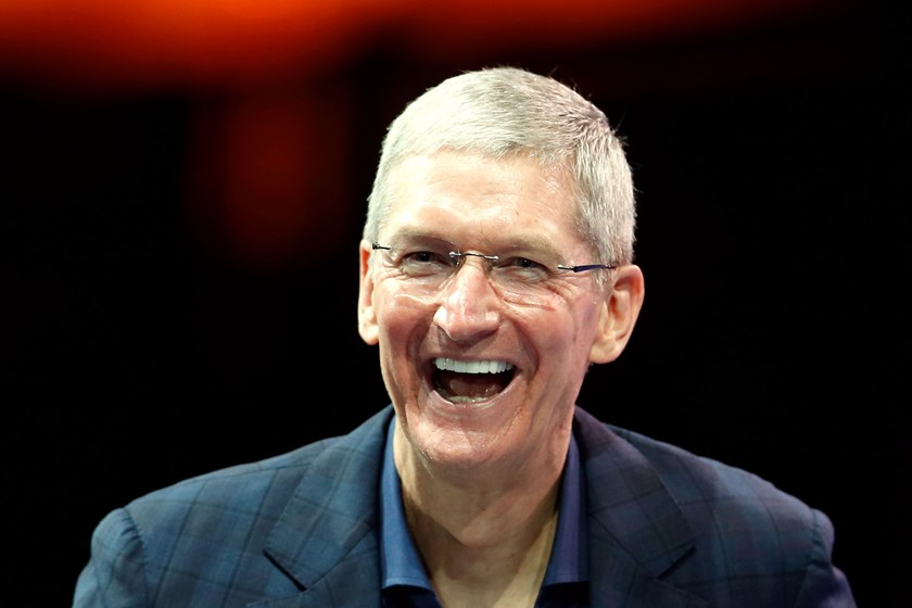 Apple CEO Tim Cook speaks at the WSJD Live conference in Laguna Beach, California October 27, 2014. Photo credit: Reuters