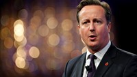 Britain's Prime Minister David Cameron speaks at the Confederation of British Industry (CBI) annual conference in London November 10, 2014. Photo credit: Reuters