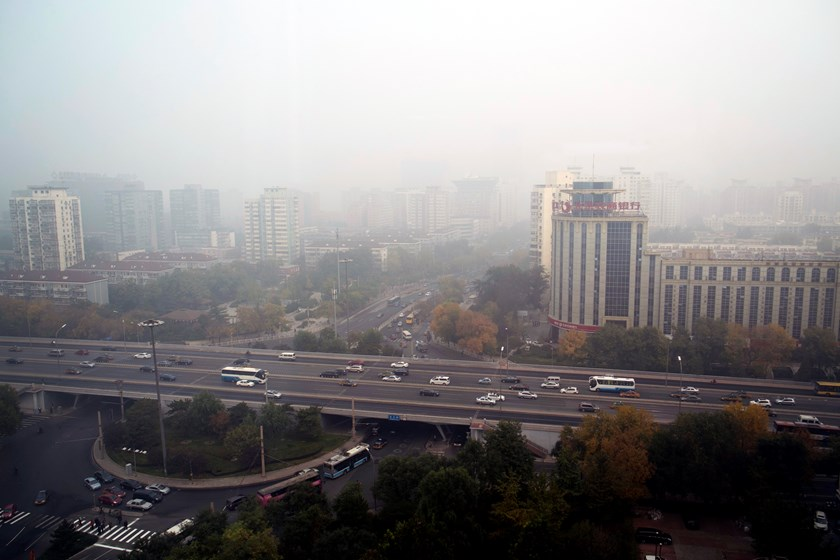 "Beijing's fall ""weather"" may be come soon to Saigon if Vietnam keeps rubber stamping free trade agreements without a smart energy plan to slow its rapid environmental implosion. Photo: Calvin Godfrey"