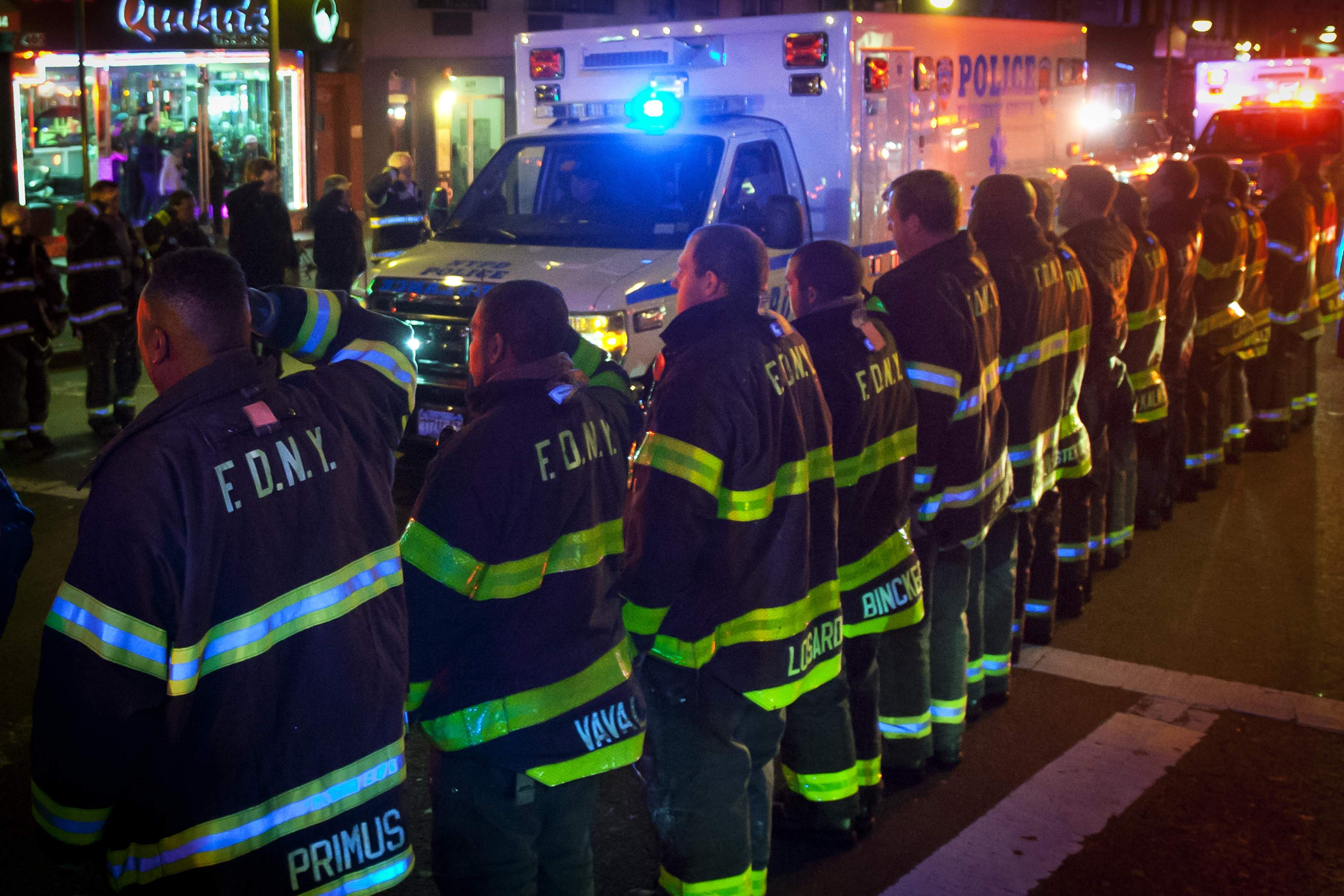 Gunman with possible revenge in mind kills two NYC police officers