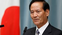 Japan's new Agriculture, Forestry and Fisheries Minister Koya Nishikawa speaks during a news conference at Prime Minister Shinzo Abe's official residence in Tokyo September 3, 2014 file photo. Photo credit: Reuters