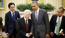 Obama, Vietnam Party Chief discuss East Sea in landmark meeting