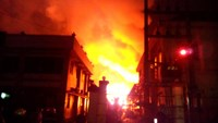 HCMC storage engulfed in flames, 15 firemen hospitalized
