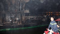 Explosion, fire on oil tanker kills two in Vietnam port
