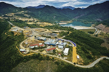 Bong Mieu gold mine in Quang Nam Province. Photo credit: Dan Tri